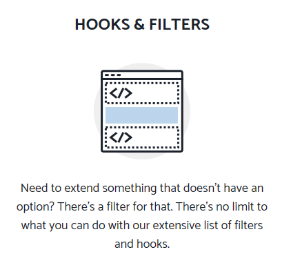 wordpress generatepress theme: hooks and filters