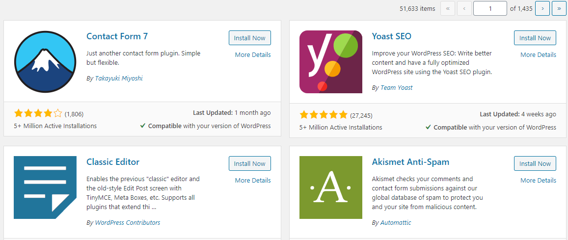 Interested in WordPress, here's an approach - Popular Plugins